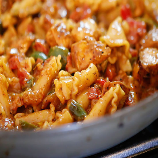 Southwest Chicken pasta
